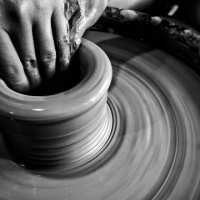 Potter for a moment at Sagada Pottery