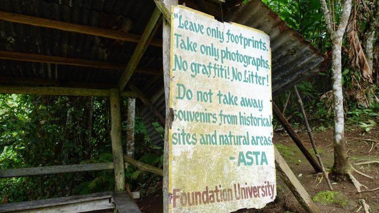 casaroro waterfall greeting rule