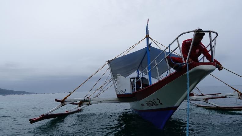 boat for Sumilon island
