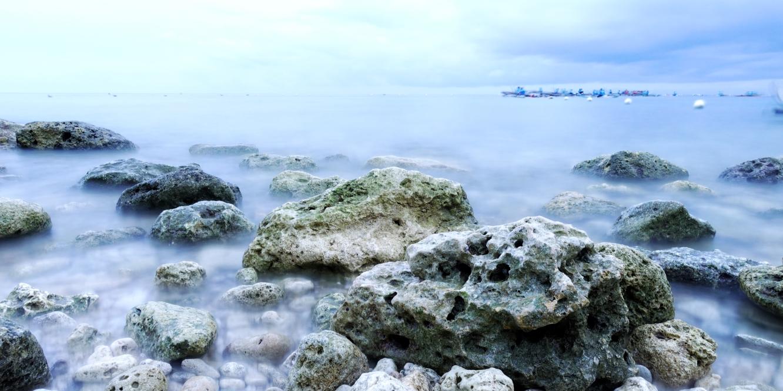 long exposure oslob beach